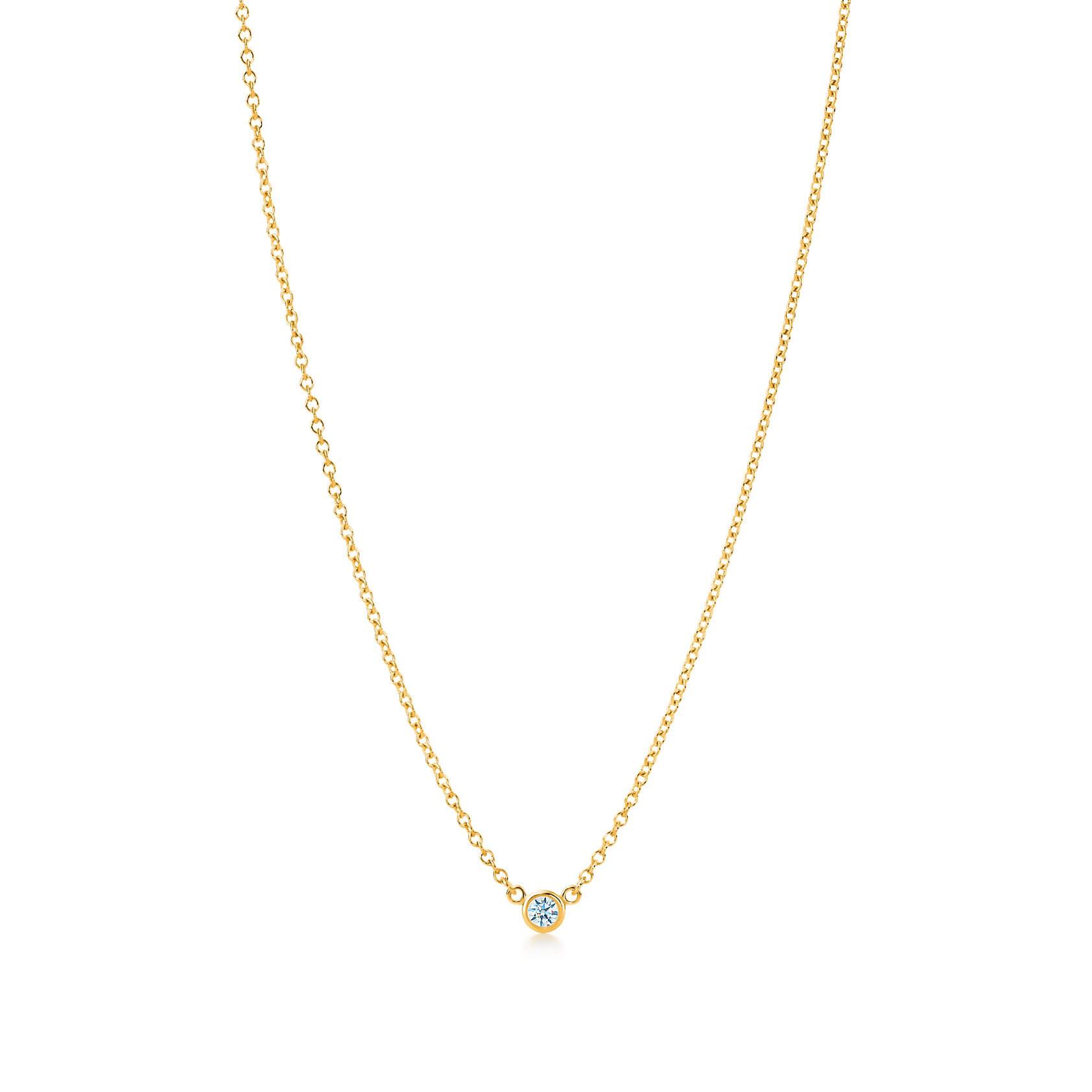 Tiffany & Co_ダイヤモンド バイ ザ ヤード ペンダント_商品写真