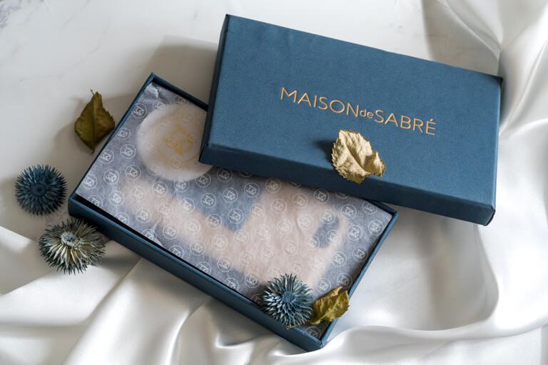 MAISON de SABRE_ボックス中の梱包