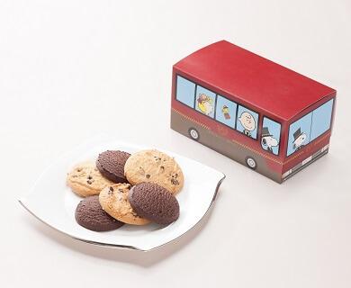 ドアマン・スヌーピー シャトルバス クッキーセット_商品写真