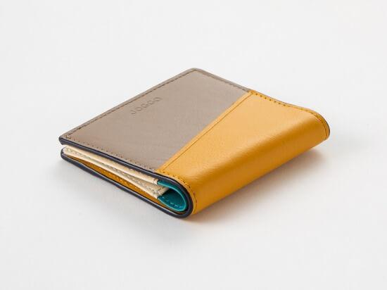 JOGGO_2つ折りエッジカラー財布(アシンメトリー)_商品写真3