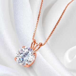 ニューヨークからの贈り物_ダイヤモンド ピンクゴールド ネックレス K14 PG_商品写真2