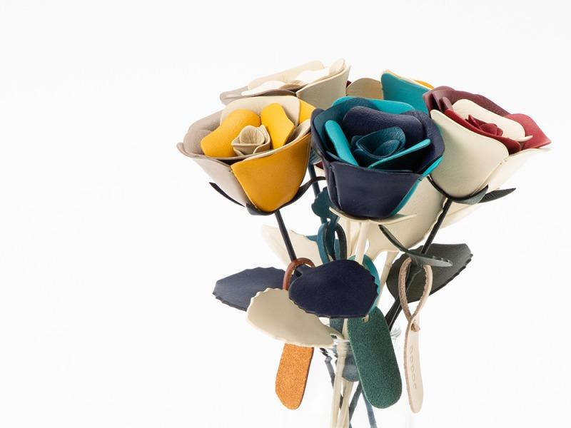 JOGGO 革の一輪花 商品写真