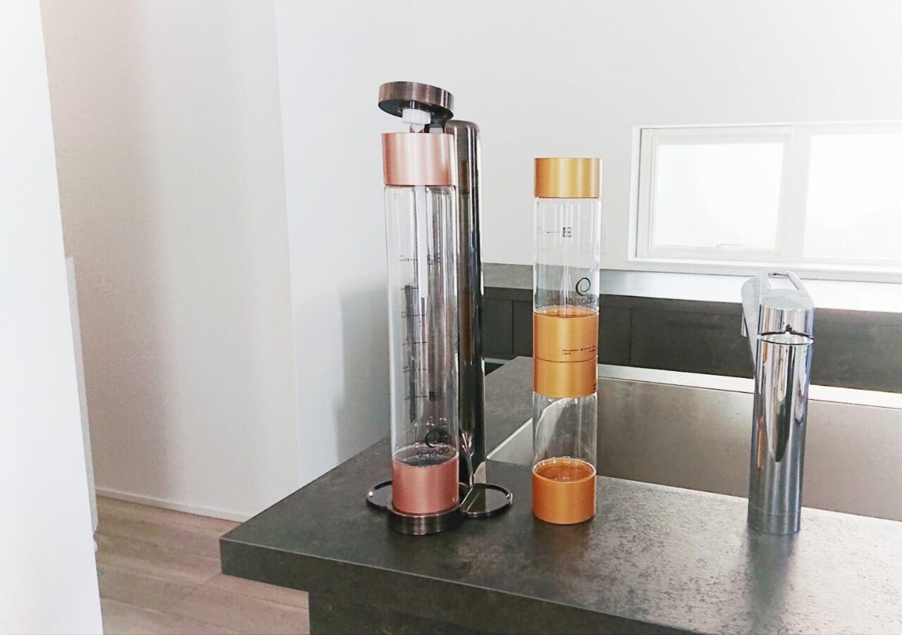 e-soda drink_キッチンに置いた写真