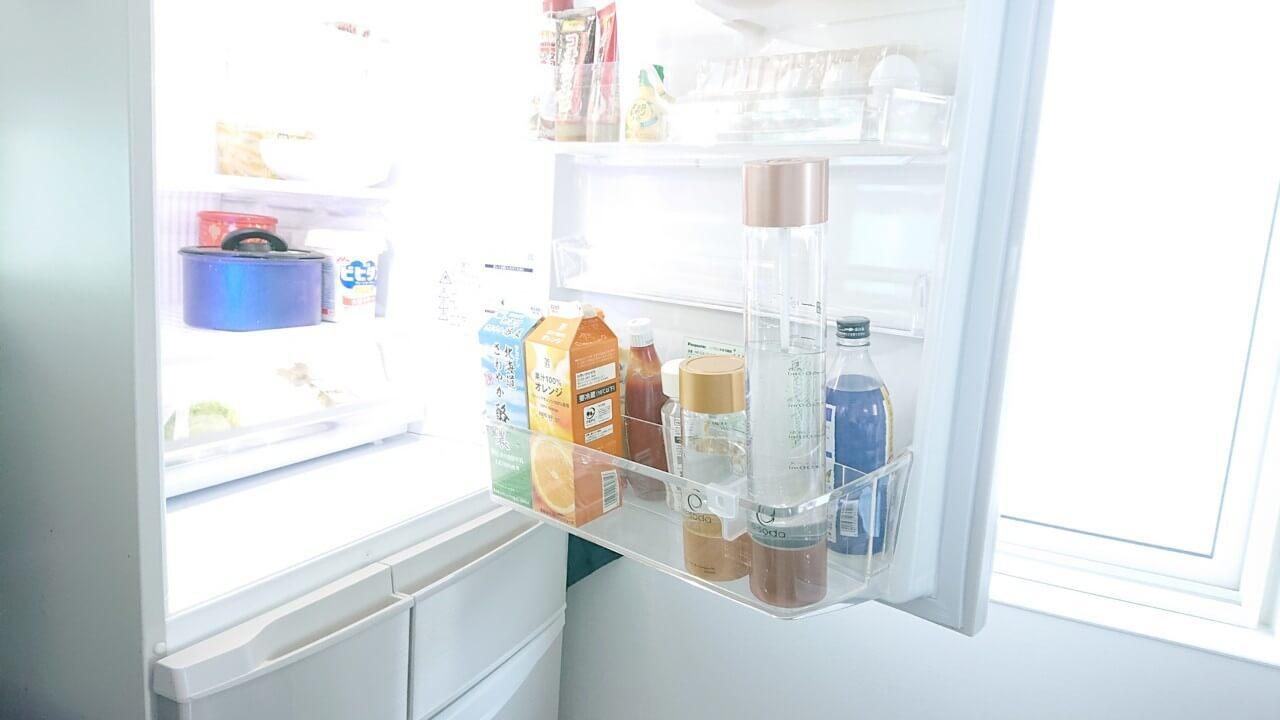 e-soda drink_冷蔵庫に収納した写真