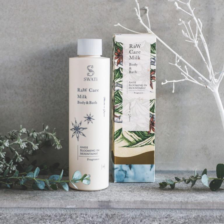 SWATi_RaW Care Milk Body Bath Anise blooming in Mountains_商品写真 (1)