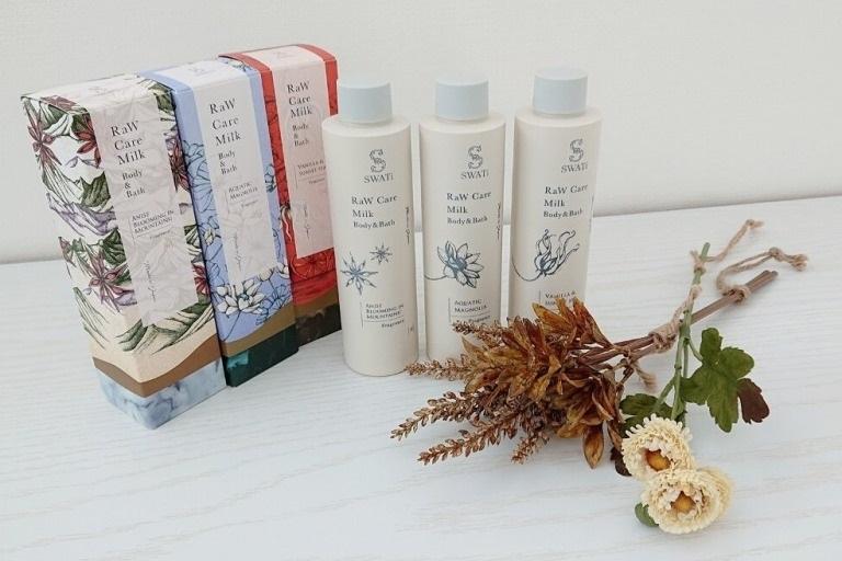 【レビュー】SWATiのRaW Care Milk Body&Bathがプレゼントに最適!_アイキャッチ