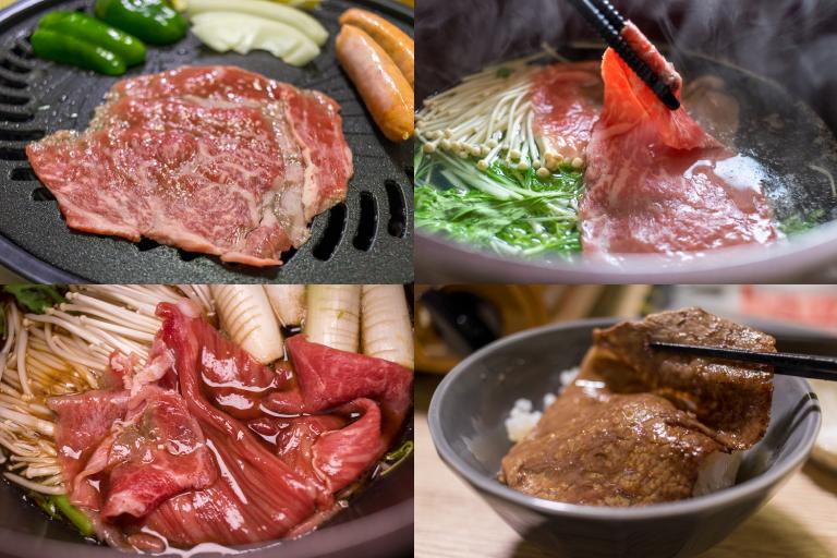神戸ぐりる_切り落とし肉_色々な食べ方2
