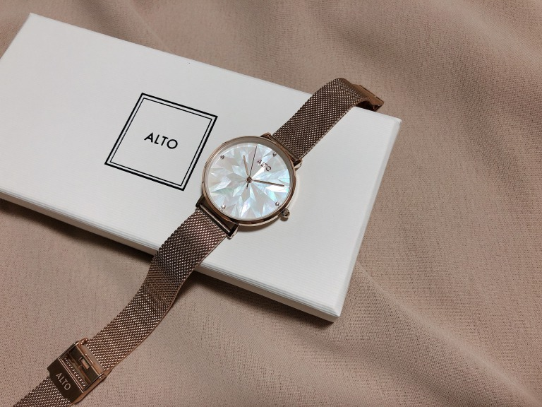 ALTO_アルト_Purelove ローズゴールド_腕時計