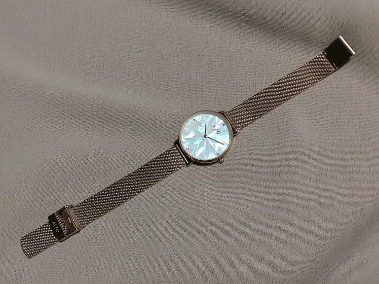 ALTO_アルト_Purelove ローズゴールド_腕時計全体が分かる写真