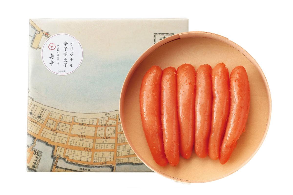 島本_オリジナル辛子明太子_商品写真