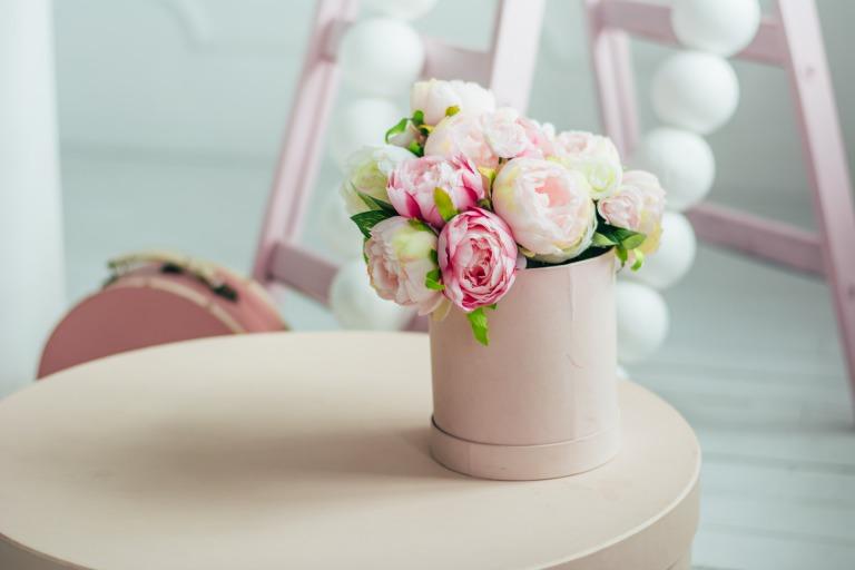 送別会で渡す花のイメージ