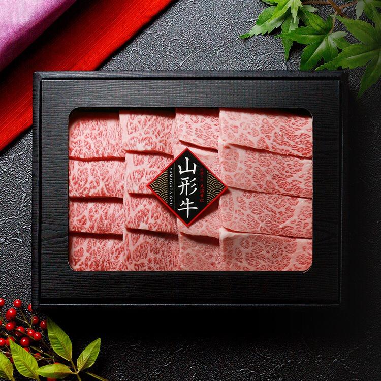 さがえ_山形牛焼き肉極上カルビ_商品写真①