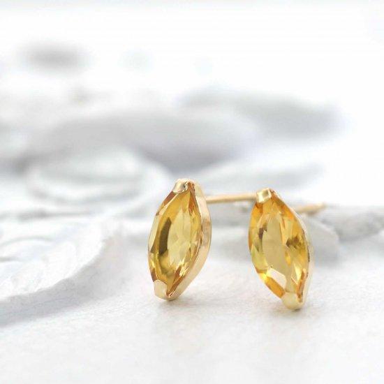 JewelryROLA_ローラ_K18YG シトリン ピアス_商品写真1