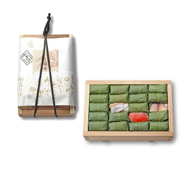 柿の葉寿司たなか_さばさけ鯛詰め合わせ_商品写真
