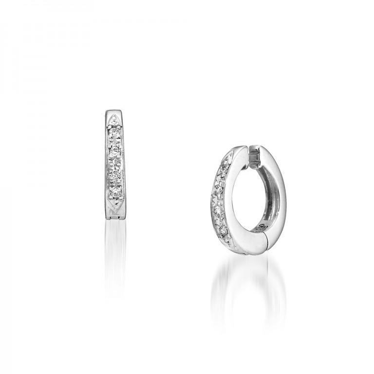 STAR JEWELRY K10 イヤリング DIAMOND CLIP EARRINGS