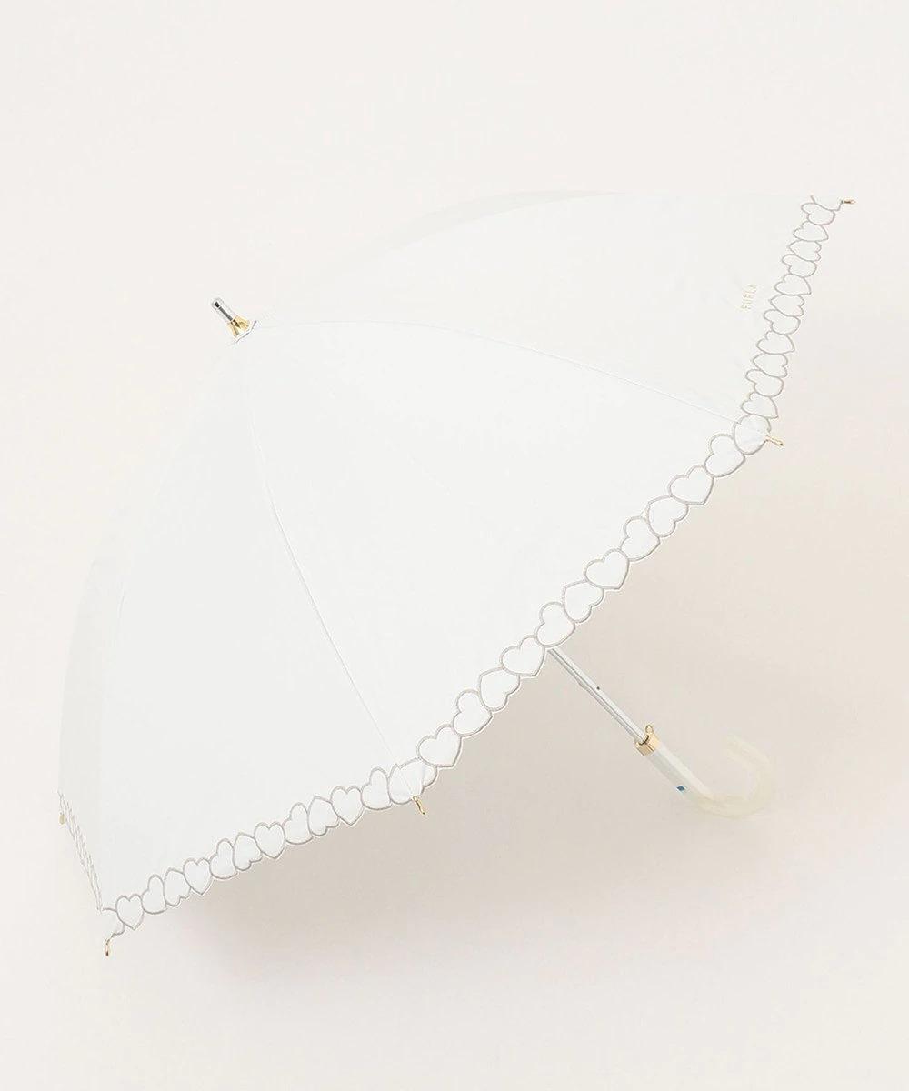 MOONBAT_FURLA 晴雨兼用長傘 ハート刺繍_商品写真①