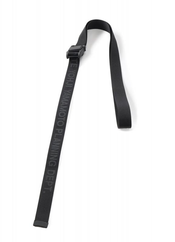 S'YTE_Magnetic Buckle Nylon Long Logo Belt_商品写真