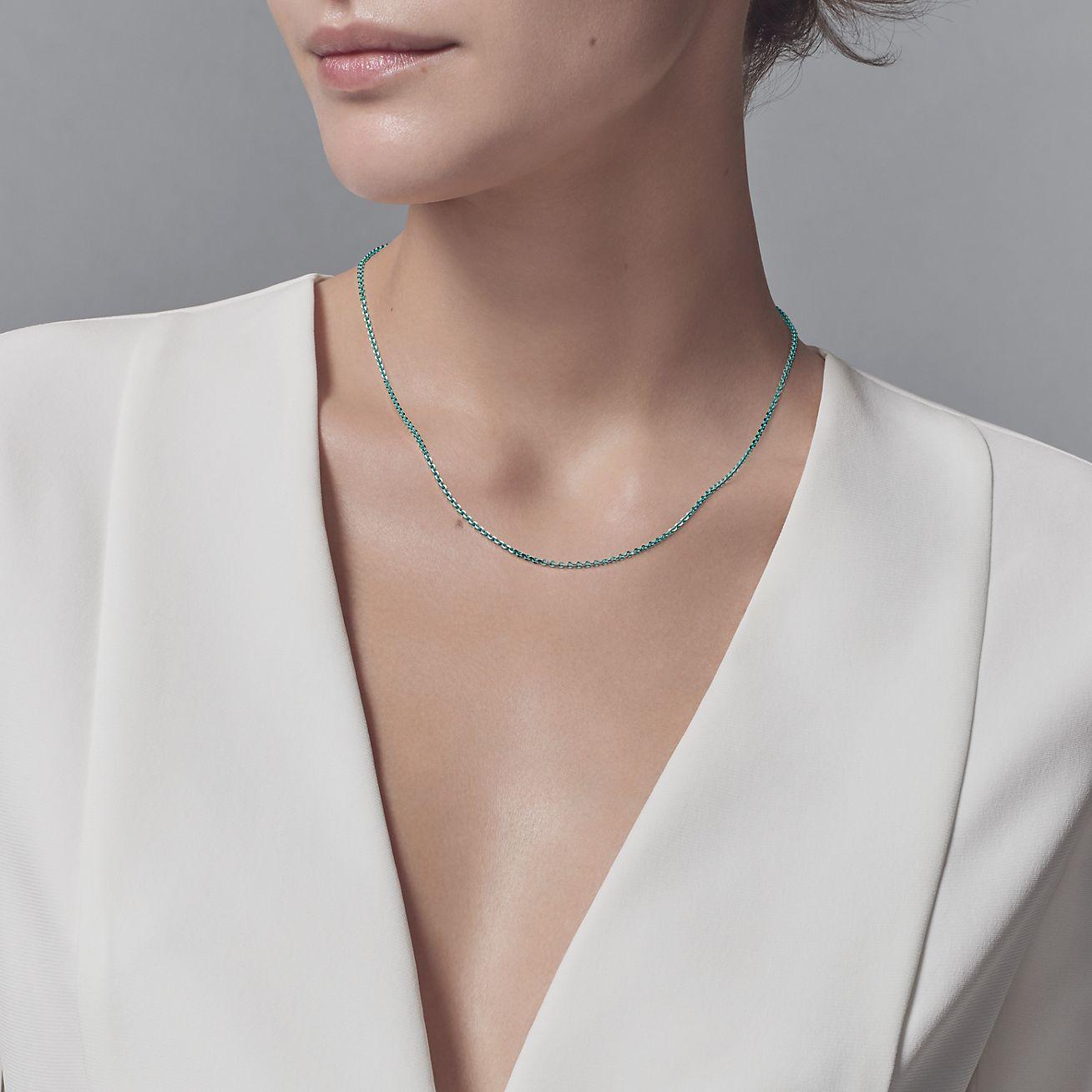 Tiffany & Co_チェーン_商品写真①