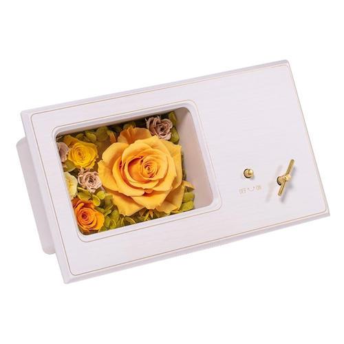 Maison de fleur_ローズ木製オルゴール_商品写真①