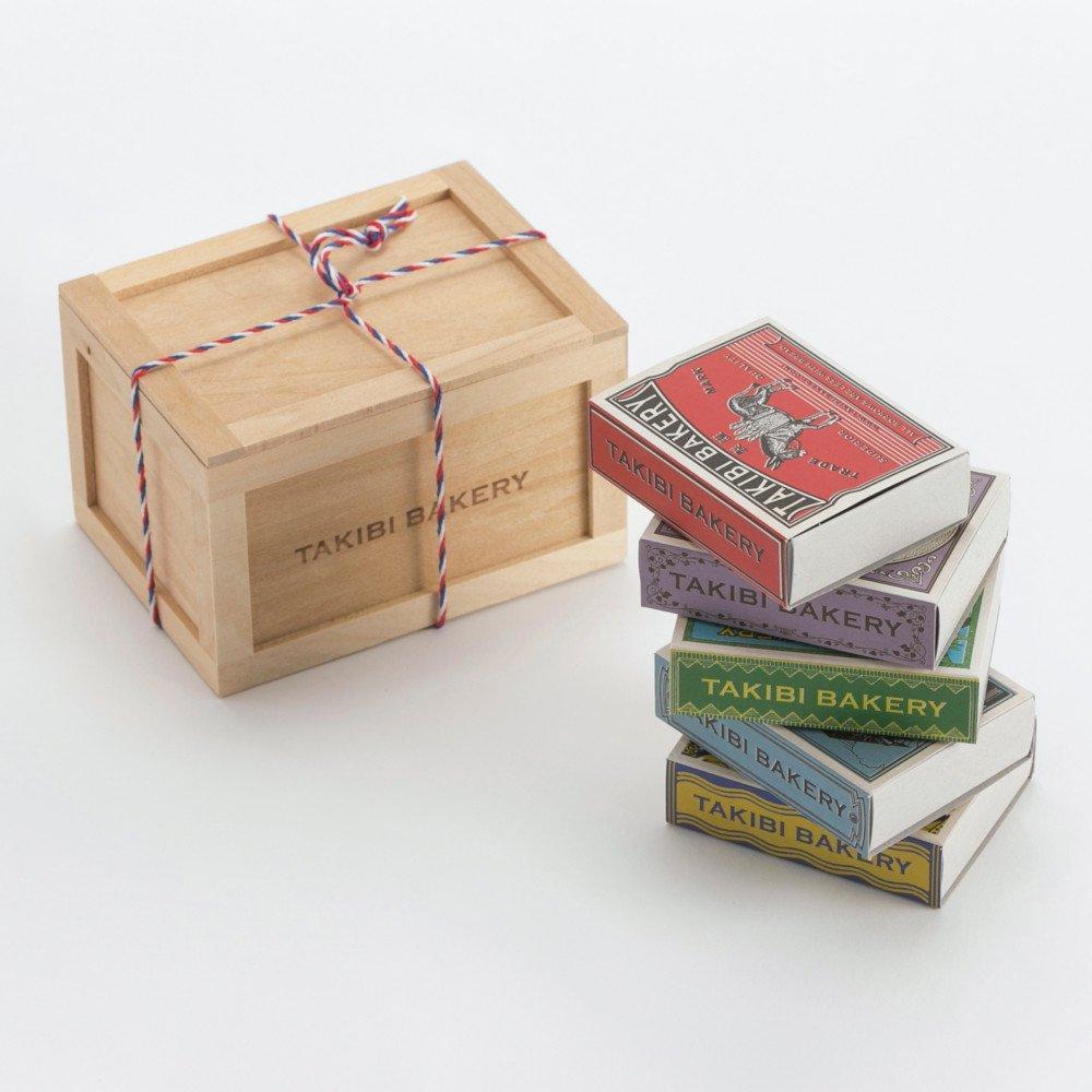 TAKIBI BAKERY_旅する紅茶の木箱5個セット_商品写真①