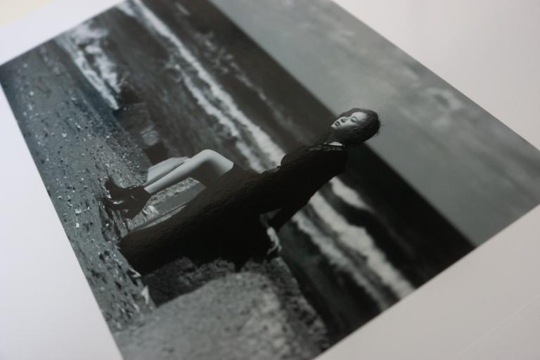 MyBook_マイブック_モノクロの写真