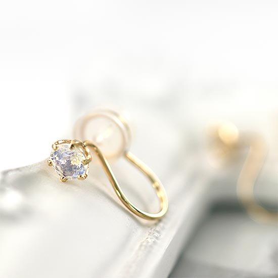 JewelryROLA_ジュエリーローラ_K10YG 誕生石 イヤリング_商品写真1