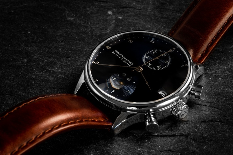 About Vintage_1815 CHRONOGRAPH BLUE SUNRAY