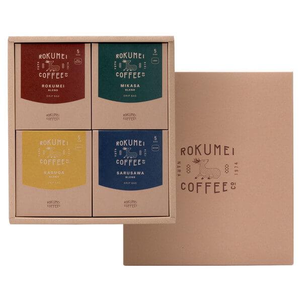 ROKUMEI COFFEE CO._COTONARA日常を豊かにする4種のブレンド_商品写真①