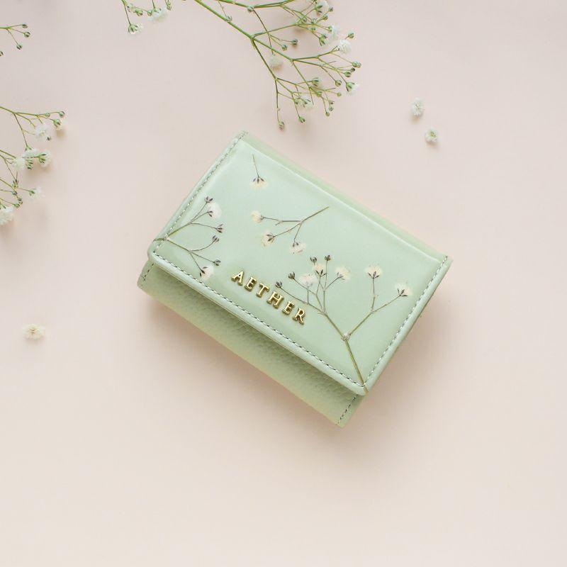 AETHER_エーテル_ジプソフィア_ミニ財布(三つ折り)