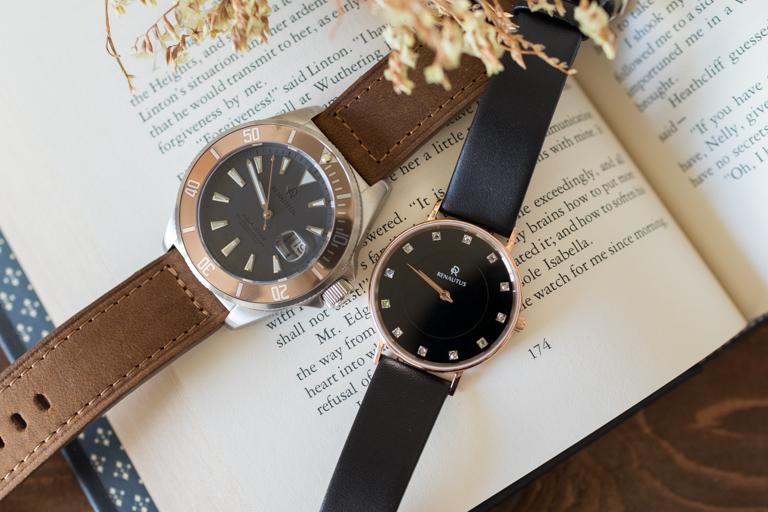 RENAUTUS_ルノータス_機械式とクォーツ腕時計比較
