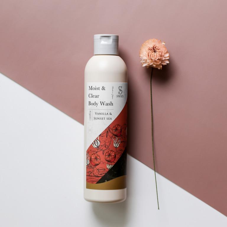 SWATi_Moist & Clear Body Wash(Vanilla & Sunset sea)_商品写真1